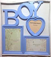 "Рамка коллаж на 3 фото ""Мальчик"", 7-37, (1625)"
