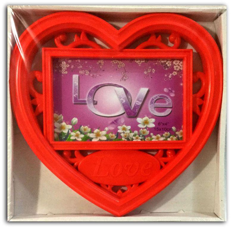 Рамка коллаж на сердце LOVE (M1612)