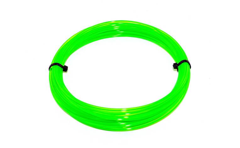Зеленый флюр (светоотражающий) PLA пластик для 3D ручки 10 метров, фото 2