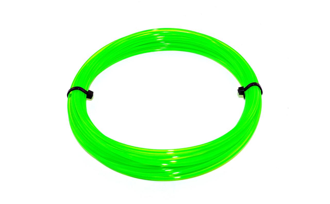 Зеленый флюр (светоотражающий) PLA пластик для 3D ручки 10 метров