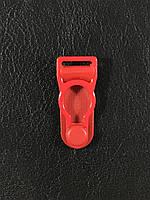 Застежки для чулков 32х14 мм цвет красный