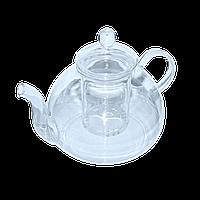 """Чайный заварник стеклянный с ситом """"Жемчужина"""" 600 мл ( заварник для чая )"""