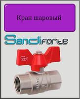 "Кран шаровый SD Forte 1/2"" ВВ вода (бабочка)"