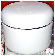 Баночка для геля, крема пустая белая тара емкость 500мл