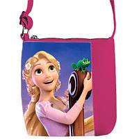 Розовая сумка с принтом принцесса Рапунцель