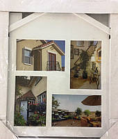 15BS1201-31 Коллаж на 4 фото Домик (HY5504)
