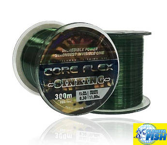 Леска Bratfishing Core Flex Sinking 300м