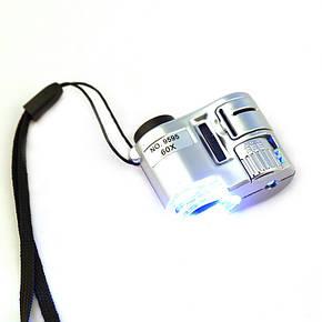 Мини микроскоп 60Х, фото 2