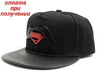 Мужская фирменная кепка реперка бейсболка прямой козырек Super men Snapback купить