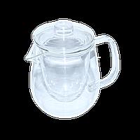 """Заварник для чая стеклянный с ситом 800 мл """"Наиф"""""""