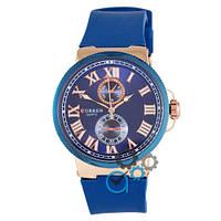 Часы мужские наручные Curren 8160-3 Gold-Blue