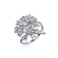 Серебряное кольцо с фианитом КК2Ф/010