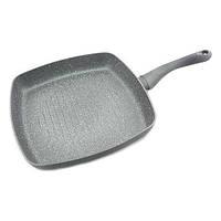 Сковорода-Гриль Fissman MOON STONE 28 см (Каменное антипригарное покрытие c индукционным дном)