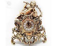 Часы настольные бронзовые «Амфора» Virtus, h-32х28х15 см
