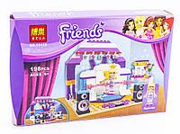 """Конструктор аналог LEGO Friends 41004 Bela """"Генеральная репетиция"""" 198 деталей арт. 10155"""