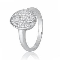 Серебряное кольцо с фианитом КК2Ф/424 - 16