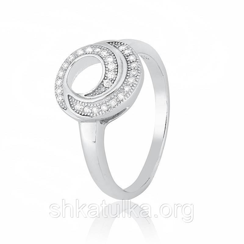 Серебряное кольцо с фианитом КК2Ф/423 - 16,2