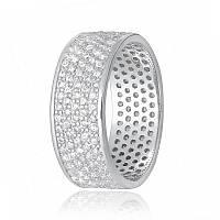 Срібне кільце з фианитом КК2Ф/А372 - 15,5