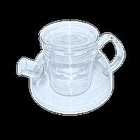 """Чайный заварник стеклянный с ситом """"Суоми"""" 1100 мл ( заварник для чая )"""