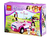 """Конструктор аналог LEGO Friends 41013 Bela """"Спортивный автомобиль Эммы"""" 159 деталей арт. 10154"""