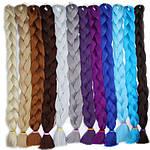Канекалон, пряди в волосы, цветные волосы (сиреневого цвета), фото 6