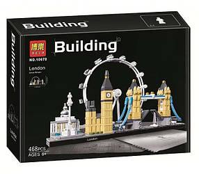 Конструктор Bela 10678 Архитектура Лондон (аналог Lego Architecture 21034)