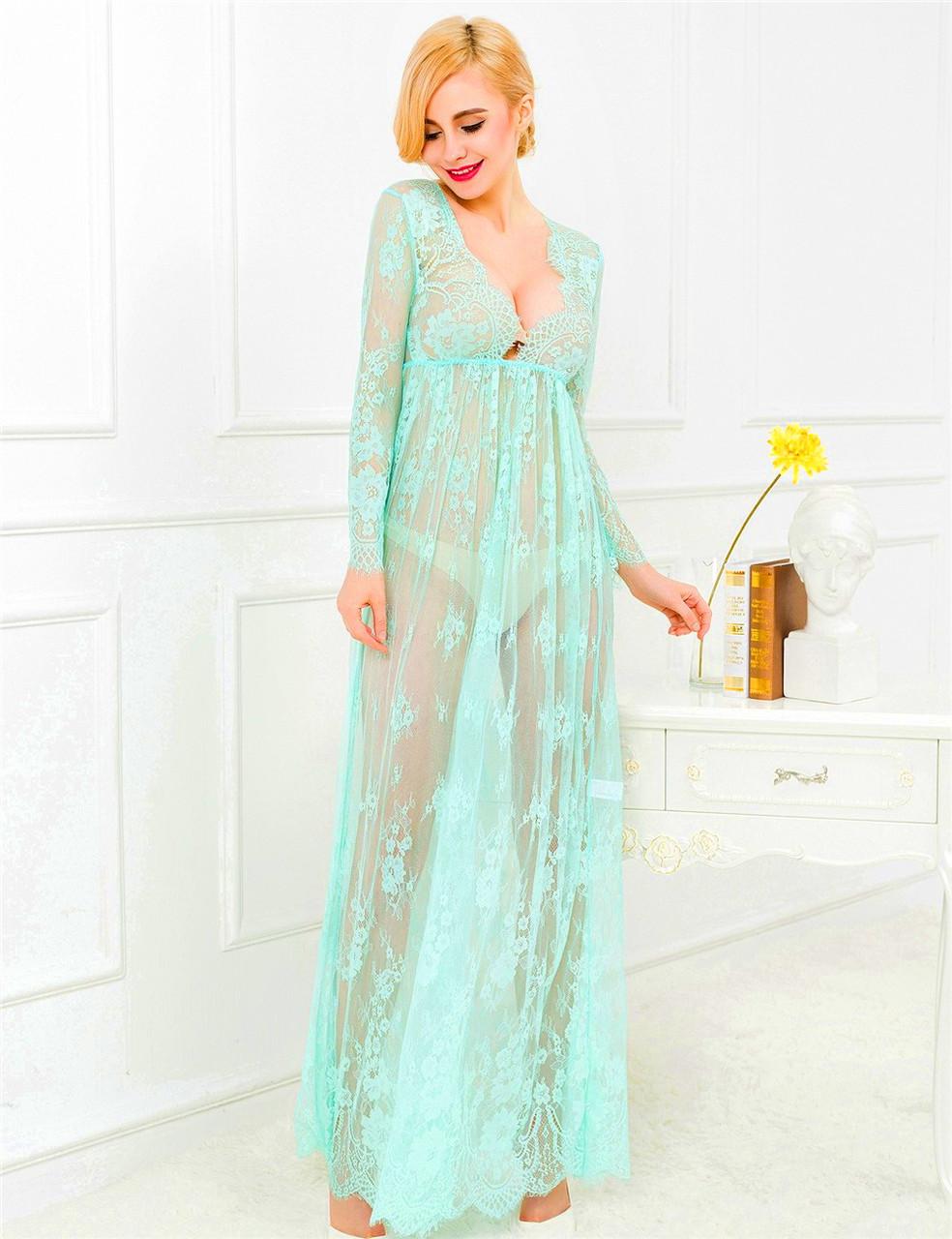 4553e248d74c Нежное ажурное платье в пол для фотосессии Ментоловое, цена 475 грн ...