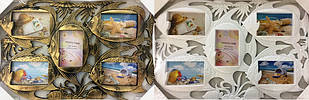 15BS1201-26 Коллаж на 5 фото Рыбки (17A8)