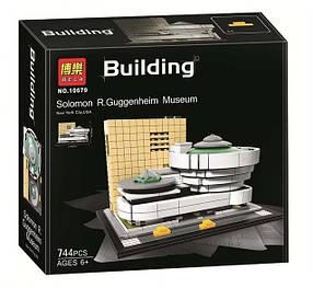 Конструктор Bela 10679 Архитектура Музей Соломона Гуггенхейма (аналог Lego Architecture 21035)
