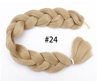 Канекалон, пряди в волосы, цветные волосы (блонд)