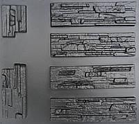 """Форма для декоративного (искусственного) камня и плитки """"Aфины"""" (6 форм)"""
