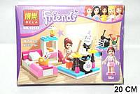 """Конструктор аналог LEGO Friends 3939 Bela """"Комната Мии"""" 85 деталей арт.10132"""