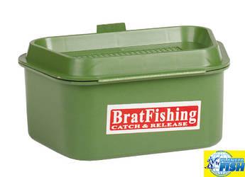 Коробка BratFishing для червей (на ремень)