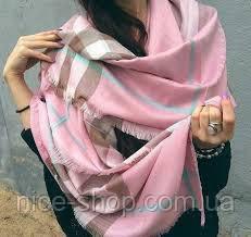 Платок Burberry розовый