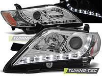 Передние фары тюнинг Totota Camry v40 2006-2009 г.в. Тойота Камри