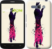"Чехол на ALCATEL One Touch POP C9 Art Hand ""4195u-319-5114"""