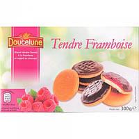 Печенье бисквитное Doucelune Tendre Framboise малина Германия 300г, фото 1