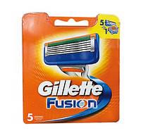 Gillette Fusion лезвия для бритья, 5 шт.
