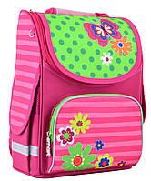 Рюкзак каркасный 1 вересня Smart PG-11 Flowers 554511
