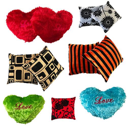 Подушки декоративные, диванные, подарочные в форме сердца