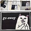"""Декоративный коврик - """"Go Away"""" - 60 х 40 см."""