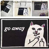 """Декоративный коврик - """"Go Away"""" - 60 х 40 см. , фото 1"""