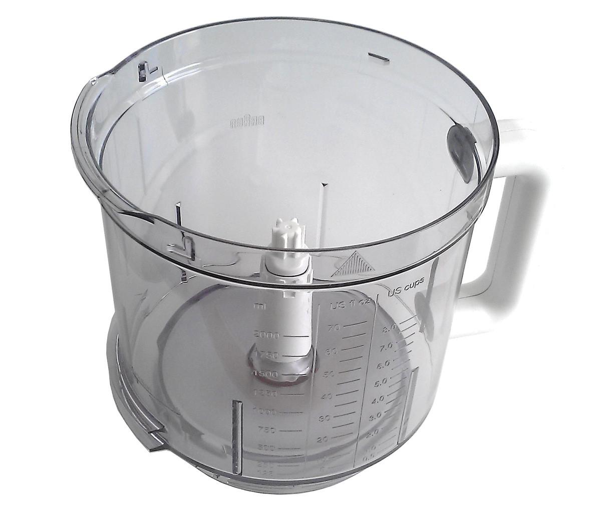 Чаша для кухонного комбайна Braun 2000ml 7322010204Чаша для кухонного комбайна Braun 2000ml 7322010204