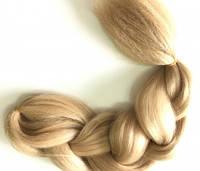 Канекалон, пряди в волосы, цветные волосы (русого цвета)