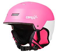 Горнолыжный / сноубордический шлем COPOZZ  (PINK)