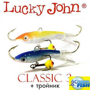 Балансир Lucky John CLASSIC 3 30мм 4.0гр (с тройником)