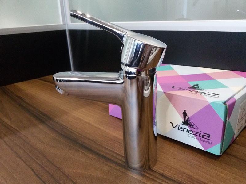 Смеситель для раковины Venezia Plus 5012204 хром