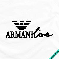 Термопринт на накидки Armani [7 размеров в ассортименте] (Тип материала Матовый)