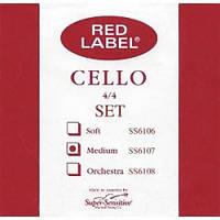 Струны Super Sensitive E Red Label SS6107