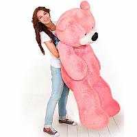 Огромный плюшевый медведь Бублик 200 см (розовый), фото 1